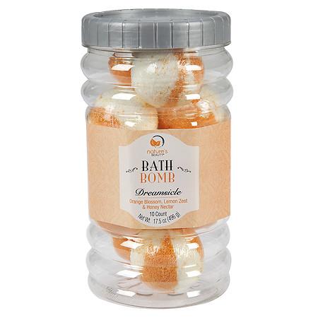 Nature's Beauty Dreamsicle Bath Bombs - 2 oz.