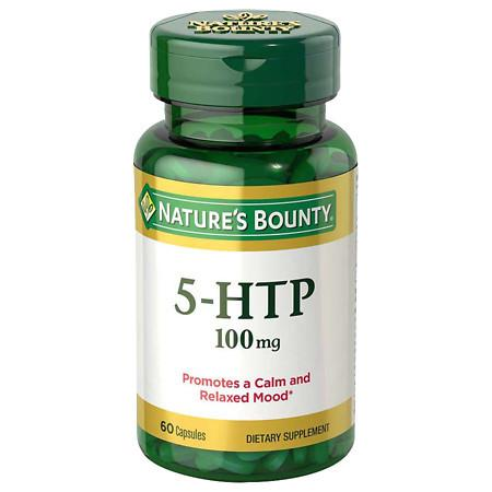 Nature's Bounty 5-HTP 100mg, Capsules - 60 ea
