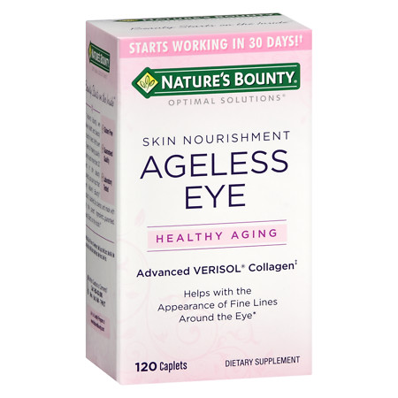Nature's Bounty Ageless Eyes Verisol Collagen Tablets - 120 ea