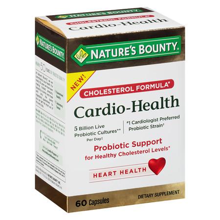 Nature's Bounty Cardio-Health Probiotic Capsules - 60 ea