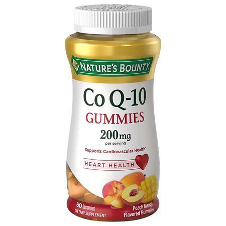 Nature's Bounty CoQ10 200 mg Gummies Peach Mango - 60 ea