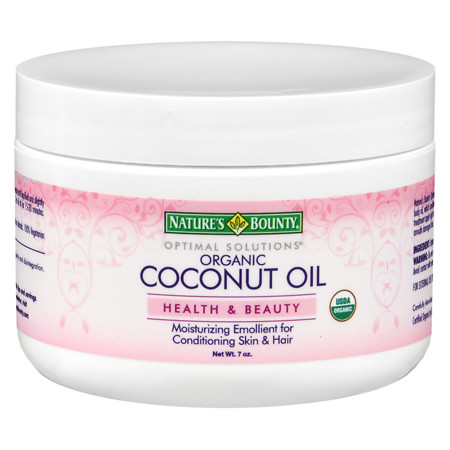 Nature's Bounty Optimal Solutions Coconut Oil - 7 fl oz