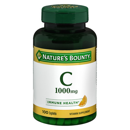 Nature's Bounty Pure Vitamin C 1000mg Caplets - 100 ea