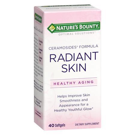 Nature's Bounty Radiant Skin Ceramosides Softgels - 40 ea
