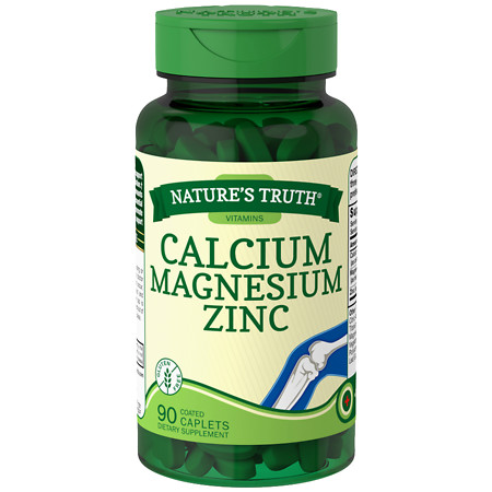 Nature's Truth Calcium Magnesium Zinc Plus Vitamin D3 - 90 ea