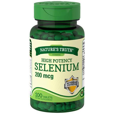 Nature's Truth High Potency Selenium 200mcg - 100 ea