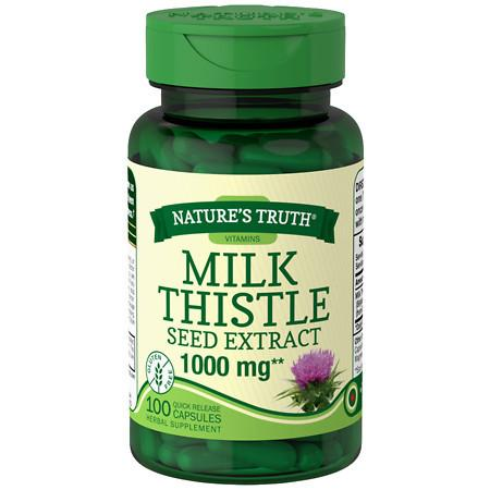 Nature's Truth Milk Thistle Seed Extract 1000mg - 100 ea