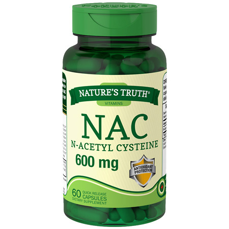 Nature's Truth NAC N-Acetyl Cysteine 600mg - 60 ea