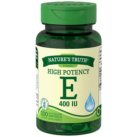Nature's Truth Vitamin E 400 IU with Dl-Alpha - 100 ea