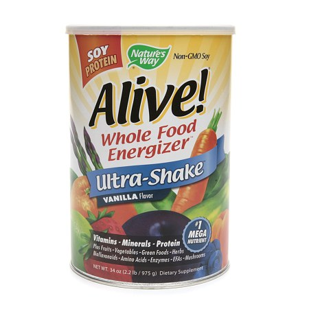 Nature's Way Alive! Soy Protein Ultra-Shake - 34 oz.