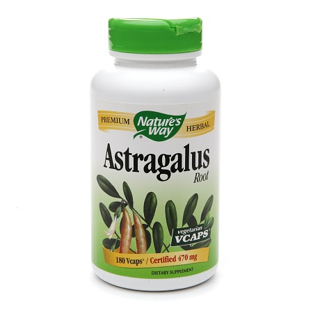 Nature's Way Astragalus Root, Veggie Capsules - 180 ea