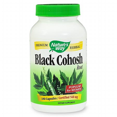 Nature's Way Black Cohosh Root, Capsules - 180 ea