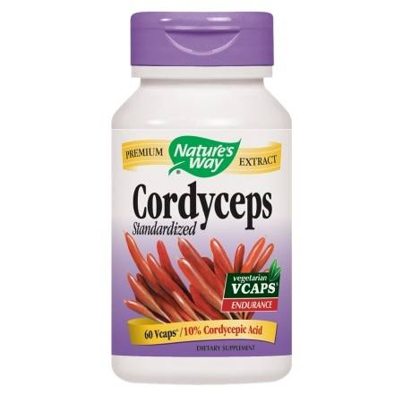 Nature's Way Cordyceps Standardized, Vcaps - 60 ea