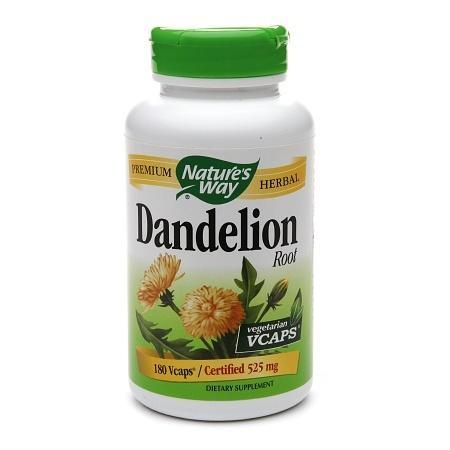 Nature's Way Dandelion Root, Veggie Capsules - 180 ea