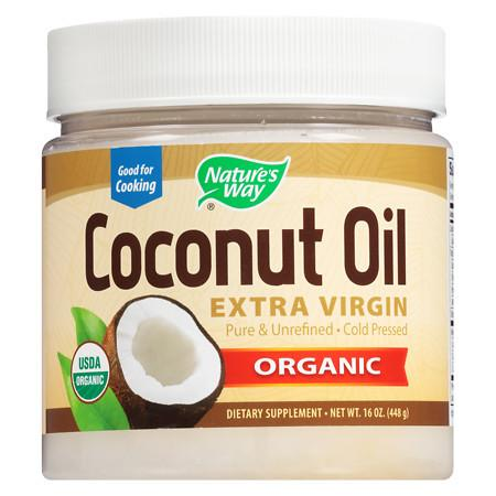 Nature's Way EfaGold Coconut Oil, Pure Extra Virgin - 16 oz.