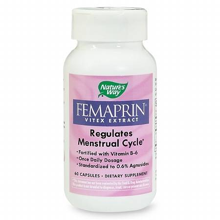 Nature's Way Femaprin, Vitex Extract, Capsules - 60 ea