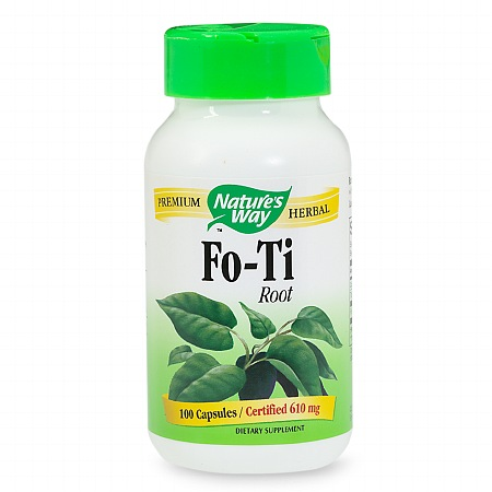Nature's Way Fo-Ti Root, Capsules - 100 ea