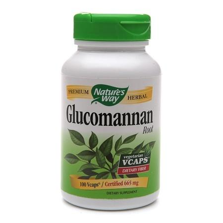 Nature's Way Glucomannan Root, Capsules - 100 ea