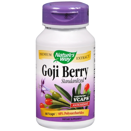 Nature's Way Goji Berry, Capsules - 60 ea