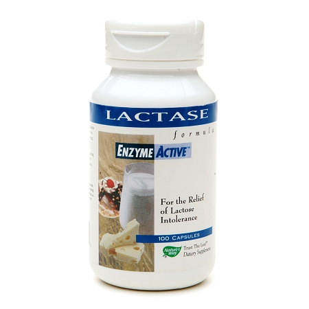 Nature's Way Lactase Formula, Enzyme Active, Capsules - 100 ea
