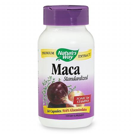 Nature's Way Maca Dietary Supplement Capsules - 60 ea