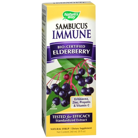 Nature's Way Sambucus Immune Syrup Berry - 8 fl oz