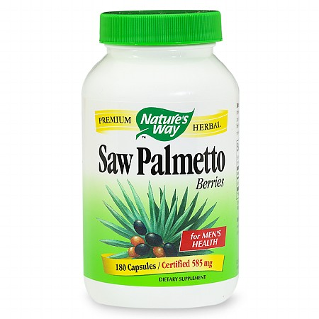 Nature's Way Saw Palmetto Berries, Capsules - 180 ea
