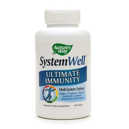 Nature's Way SystemWell Ultimate Immunity, Tablets - 180 ea