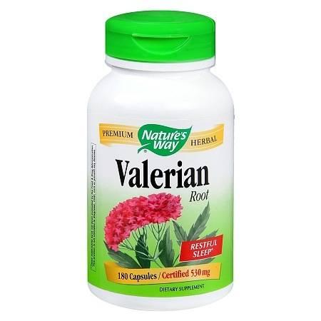 Nature's Way Valerian Root 530 mg Capsules - 180 ea