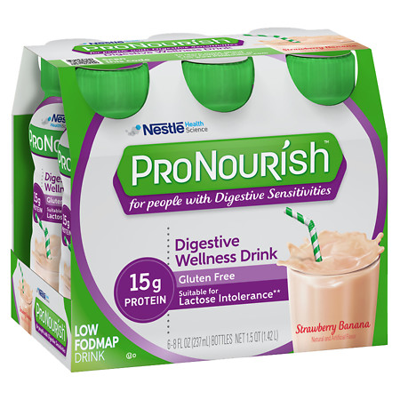 Nestle ProNourish Drinks Strawberry Banana - 8 oz.