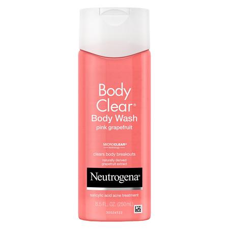 Neutrogena Body Clear Body Wash Pink Grapefruit - 8.5 fl oz
