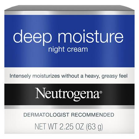 Neutrogena Deep Moisture Night Cream - 2.25 oz.