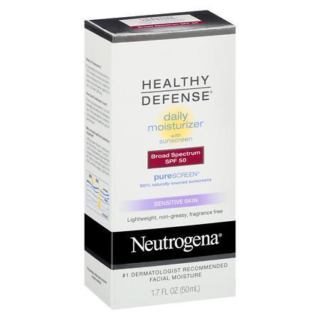 Neutrogena Healthy Defense Daily Moisturizer SPF 50 - 1.7 fl oz