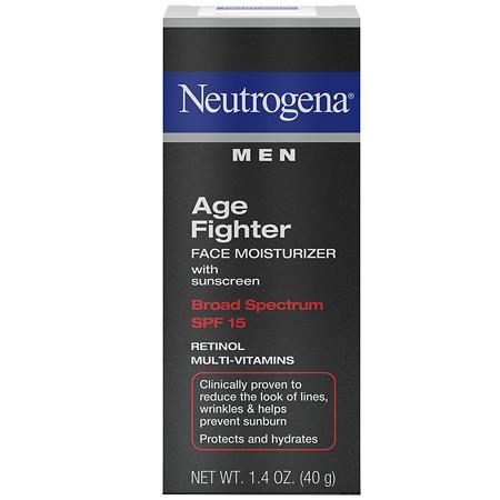 Neutrogena Men Age Fighter Face Moisturizer With Sunscreen SPF 15 - 1.4 oz.