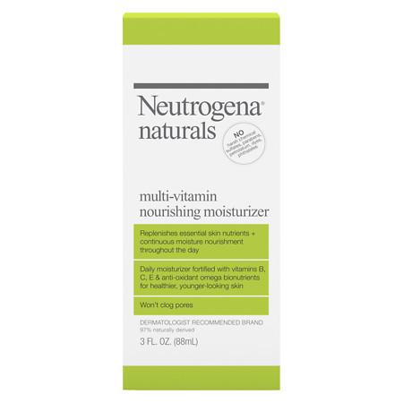 Neutrogena Naturals Multivitamin Nourishing Moisturizer Lotion - 3 fl oz