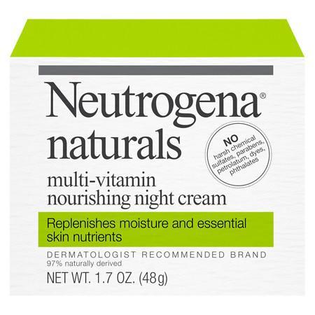 Neutrogena Naturals Multivitamin Nourishing Night Cream - 1.7 oz.