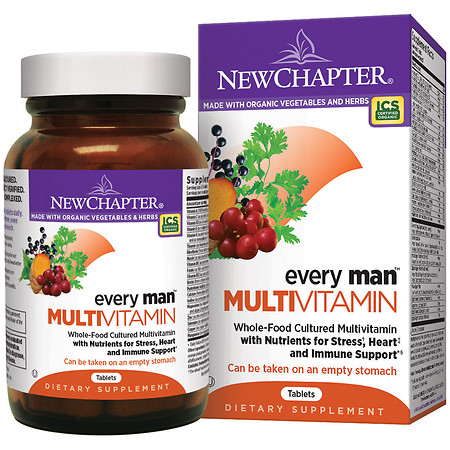 New Chapter Every Man Multivitamin, Tablets - 48 ea