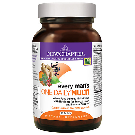 New Chapter Every Man's One Daily Multivitamin, Tablets - 96 ea