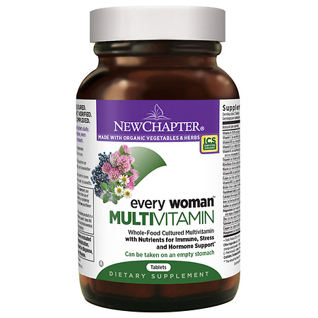 New Chapter Every Woman Multivitamin, Tablets - 48 ea