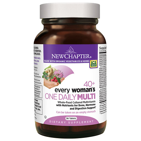 New Chapter Every Woman's One Daily 40+ Multivitamin, Tablets - 96 ea
