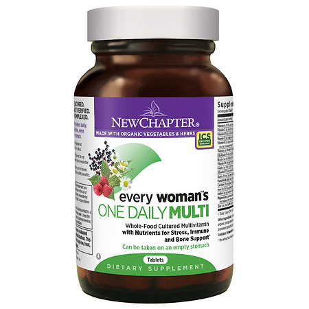 New Chapter Every Woman's One Daily Multivitamin, Tablets - 96 ea