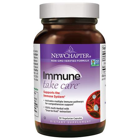 New Chapter Immune Take Care, Veggie Caps - 30 ea