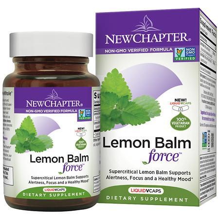 New Chapter Lemon Balm Force - 30 ea