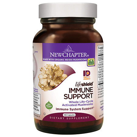 New Chapter LifeShield Immune, Capsules - 120 ea