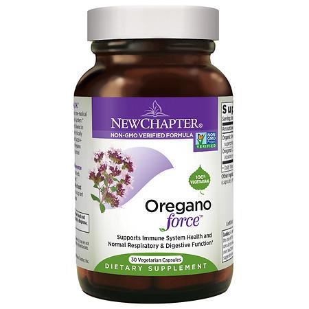 New Chapter Oregano Force, Vegetarian Capsules - 60 ea