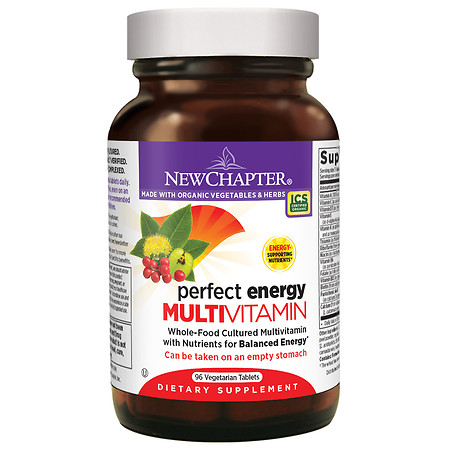 New Chapter Perfect Energy Multivitamin, Tablets - 96 ea