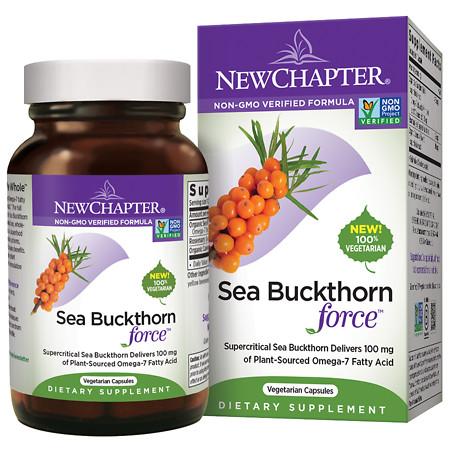 New Chapter Sea Buckthorn Force - 30 ea