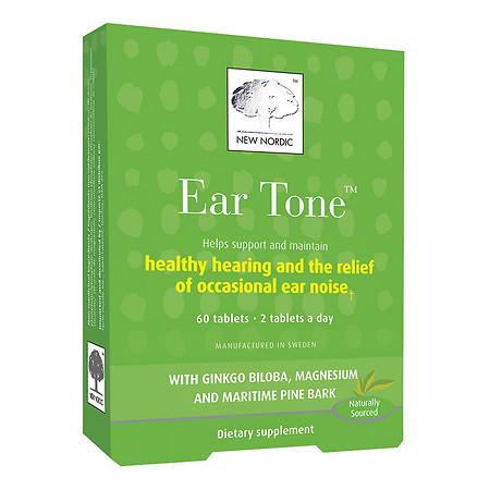 New Nordic Ear Tone,Tablets - 60 ea