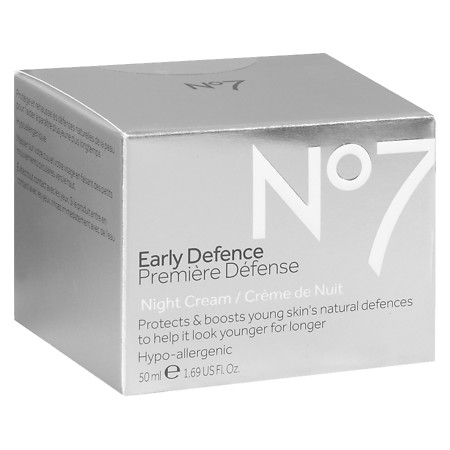 No7 Early Defence Night Cream - 1.69 oz.