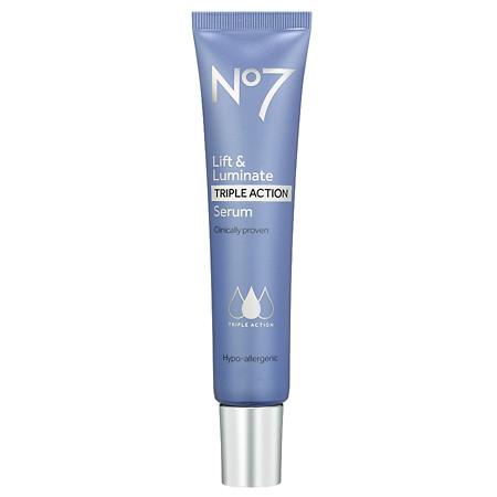 No7 Lift & Luminate TRIPLE ACTION Serum - 1 oz.